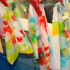 Learn through play: fabric dyeing game