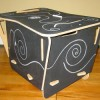 Etsy find: blackboard storage box
