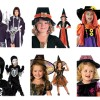 Halloween costumes and face painting kits