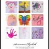 Child's artwork display