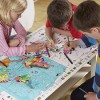 Learn through play: giant colouring maps