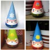 Etsy find: cone gnomes for every season