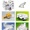 Cardboard toys that are good for the environment and creative play