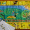 Learn through play: homemade board game to improve reading & writing skills