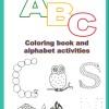 Free Printables: ABC colouring book
