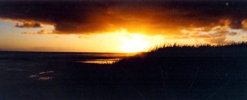 Sunset over the Ocean, Port Fairy