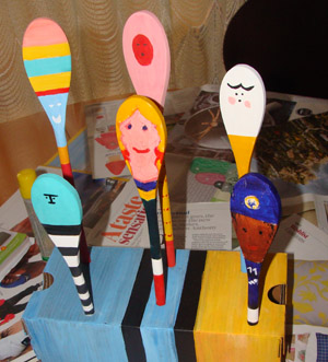 Fab Mums Monday Crafts Spoon Friends