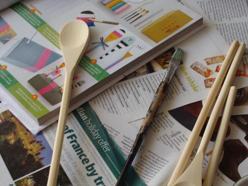 Fab Mums Monday Crafts Spoon Friends