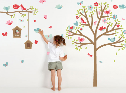 Fab Mums » New from mooo: creative & colourful wall stickers