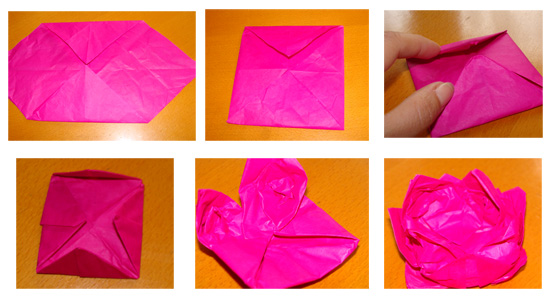 Fab mums monday crafts lotus flower origami 2 mightylinksfo