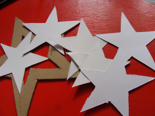 share - Large Cardboard Christmas Decorations