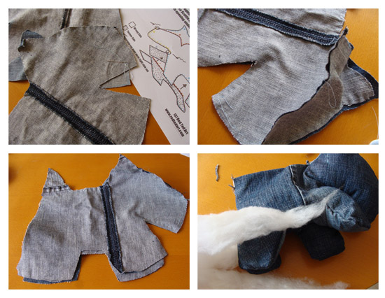 Craft Projects Using Denim Jeans