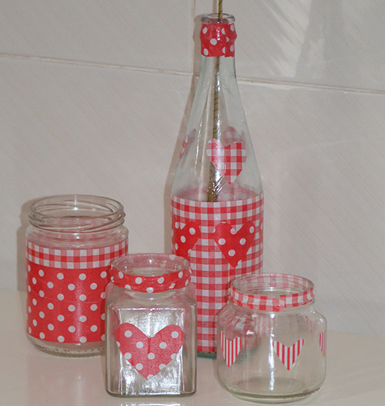 Fab Mums Heart Decorated Glass Jars For Valentine S Day