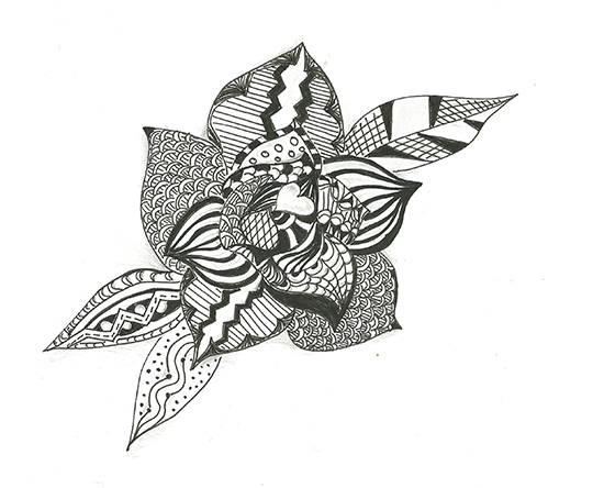 rose_zentangle